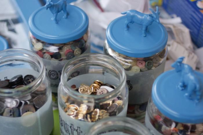 Η συλλογή μου με τα κουμπάκια!