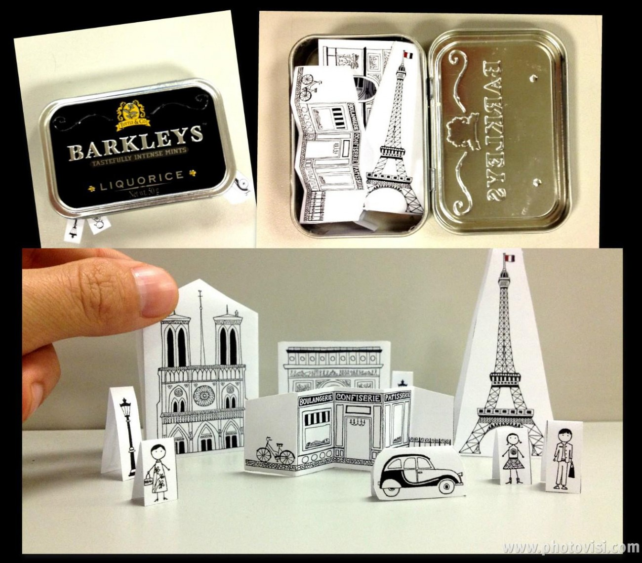 Ένα διόραμα για το Παρίσι!