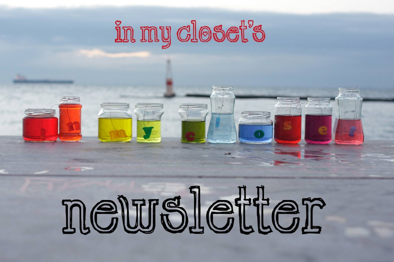 To newsletter του in my closet