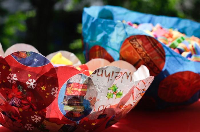 Μπολ από χαρτί και μπαλόνι