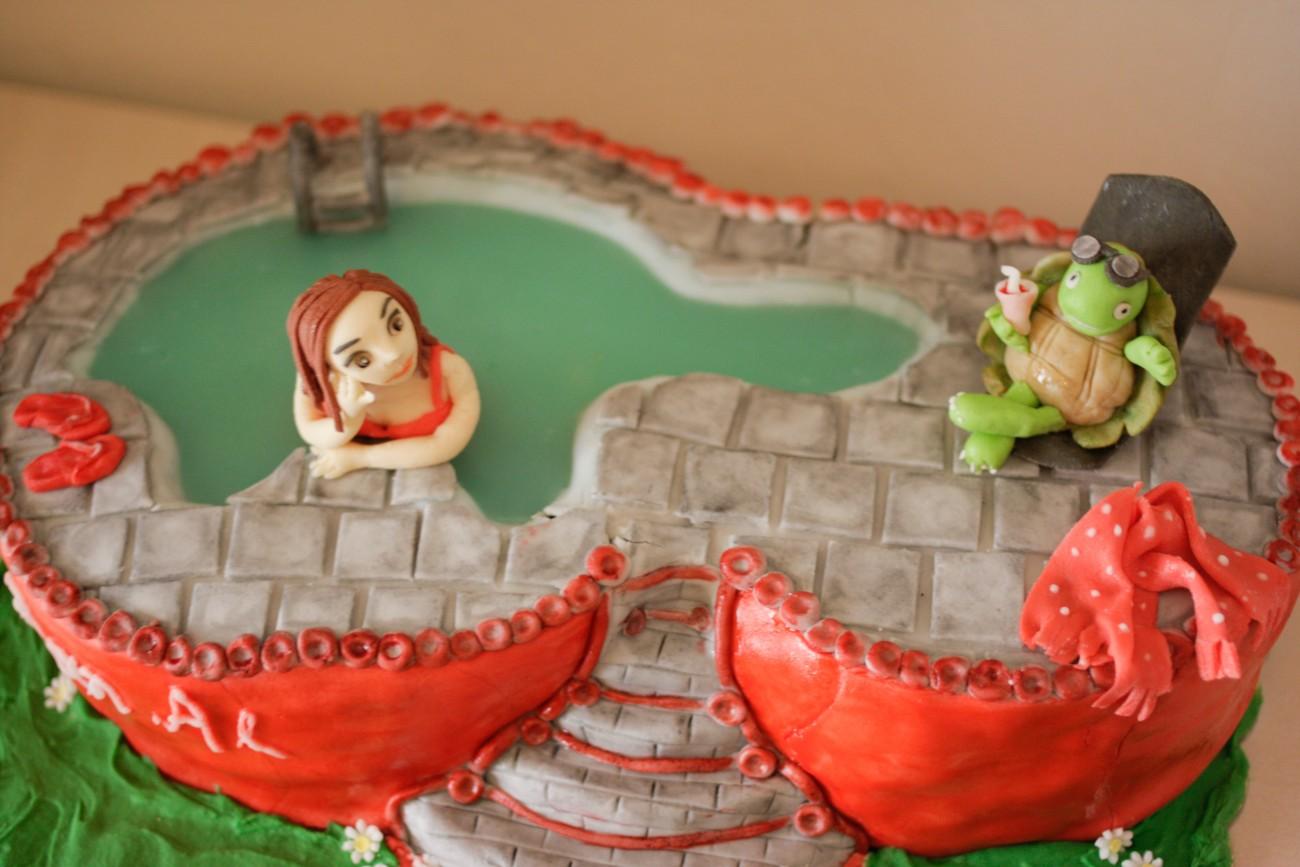 Μια τούρτα υπερπαραγωγή!