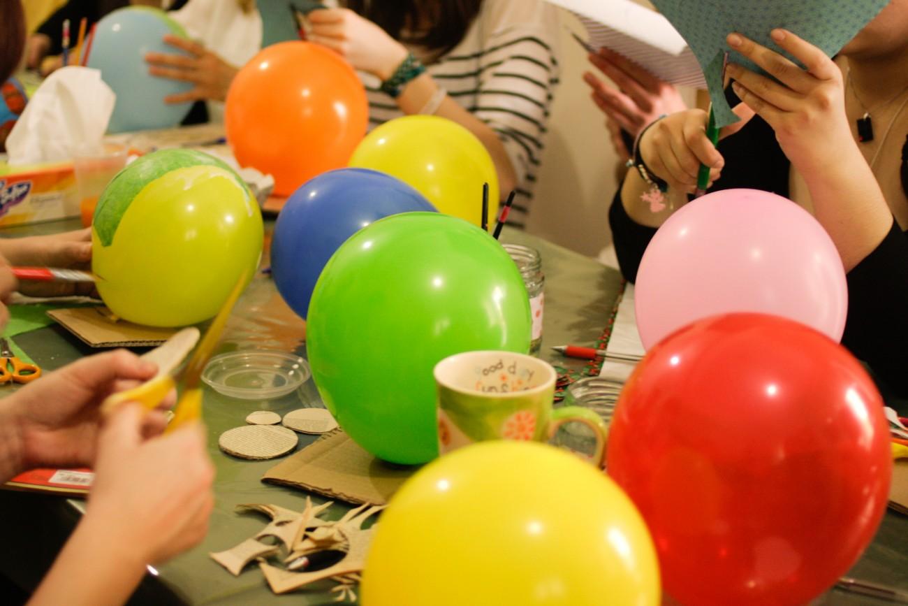 Πρώτα να σταθεροποιήσετε το μπαλόνι