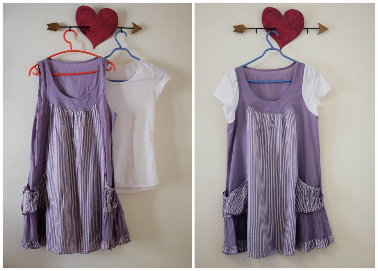 Ένα φόρεμα με μανικάκια!
