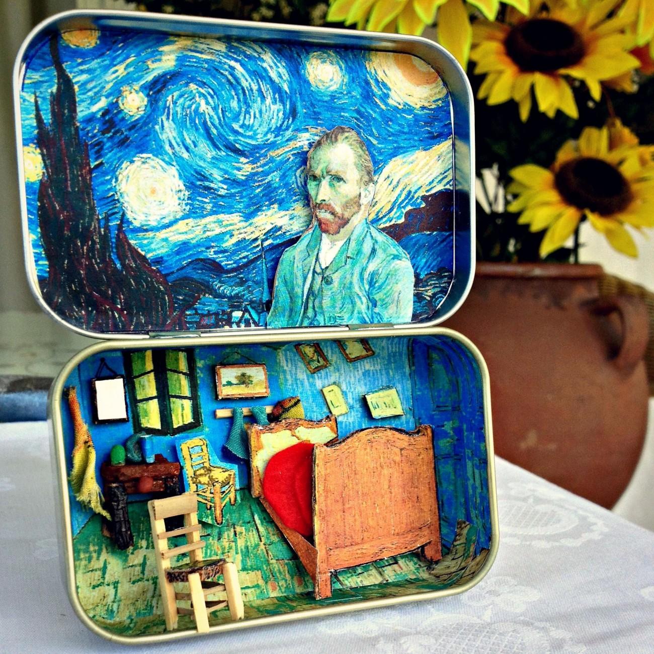 Ένας Van Gogh σε τενεκεδάκι!