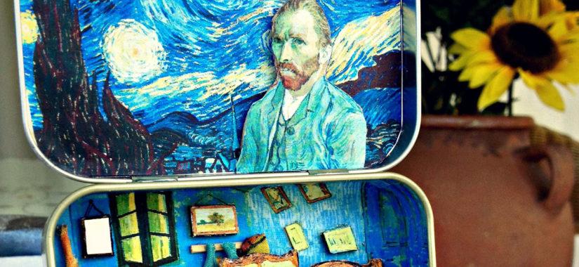 Πώς χωράει ο Van Gogh όλος σε ένα τενεκεδάκι