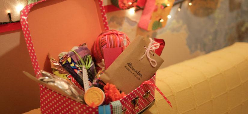 Χριστουγεννιάτικη ανταλλαγή υλικών χειροτεχνίας (και όχι μόνο)!
