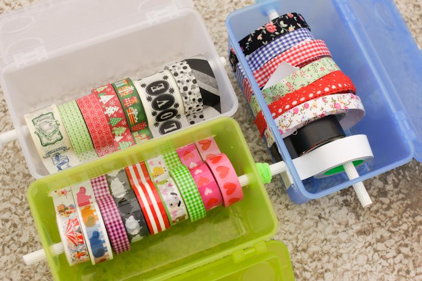 Όλες οι washi tapes μαζί