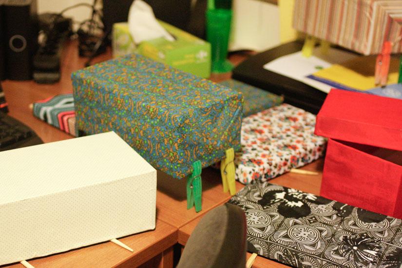 Τα κουτιά μας στεγνώνουν!