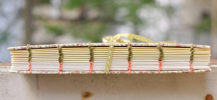 Κοπτική βιβλιοδεσία για ένα άλμπουμ γάμου