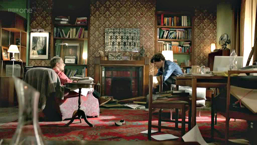 To διαμέρισμα του διδύμου στην Μπέικερ Στριτ 221Β στο Λονδίνο!