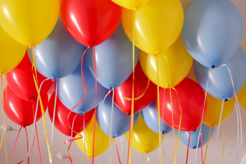 Πάρτι χωρίς μπαλόνια δεν γίνεται