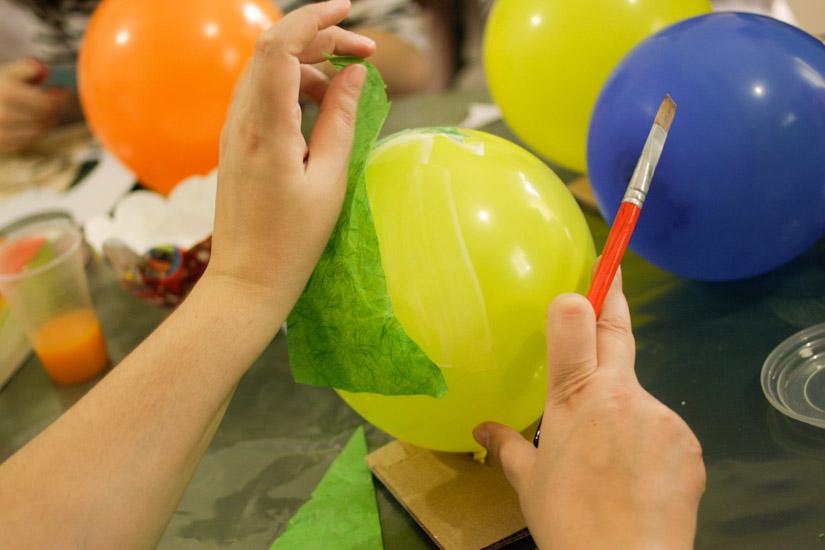 Ένα από τα καλύτερα υλικά για χειροτεχνία, το μπαλόνι!