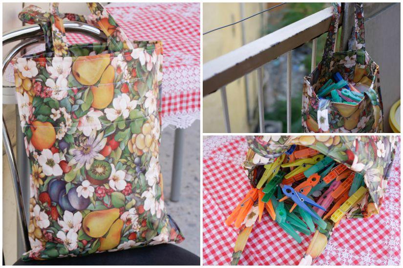 Τσάντα για τα μανταλάκια