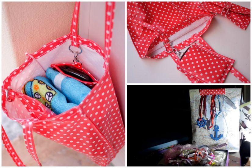 Έτοιμη τσάντα θαλάσσης για μπάνιο!