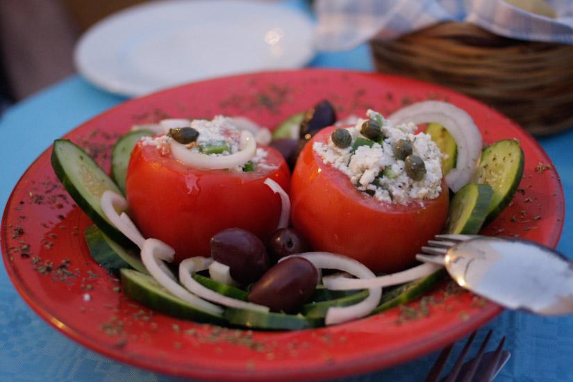 Μια ωραία δροσερή σαλάτα είναι ένα κάτι για το καλοκαίρι