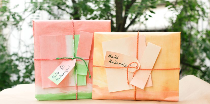 Συσκευασία δώρων με έμπνευση τα καλοκαιρινά φρούτα