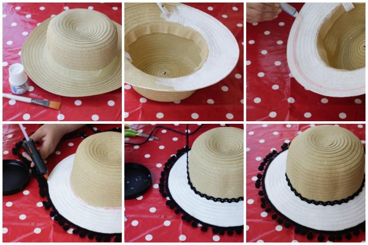 Οδηγίες βήμα-βήμα για το καπέλο παραλίας