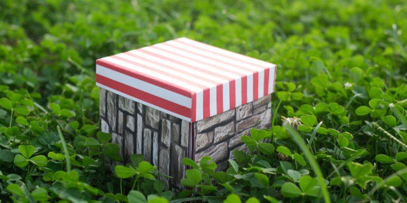 Ένα exploding box για τις αναμνήσεις του καλοκαιριού