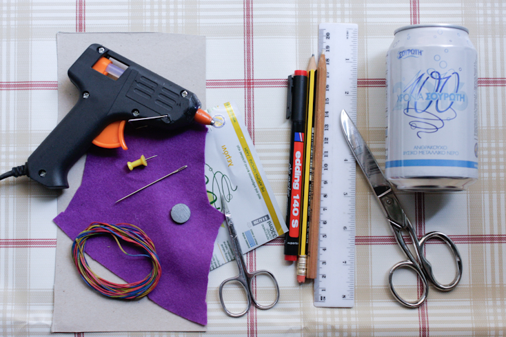 Τα υλικά και τα εργαλεία