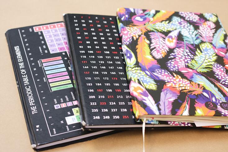 Τα 3 bullet journal μου μαζί! Το πιο πολύχρωμο από όλα είναι αυτό που θα με συνοδεύει πλέον!