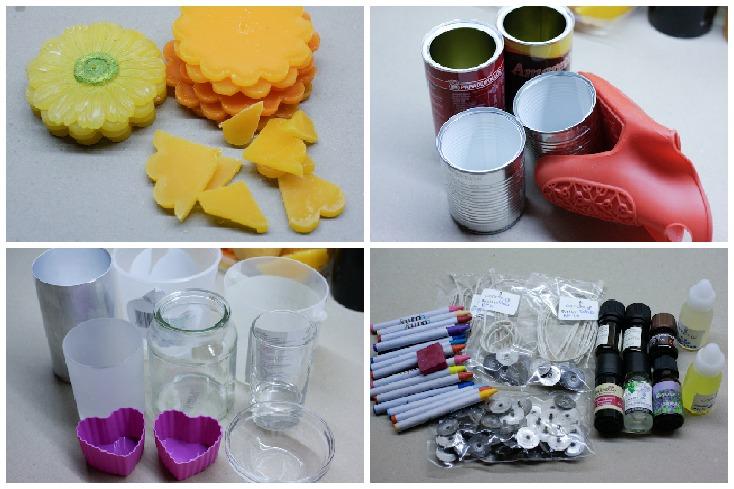 Υλικά και εργαλεία που θα χρειαστούν