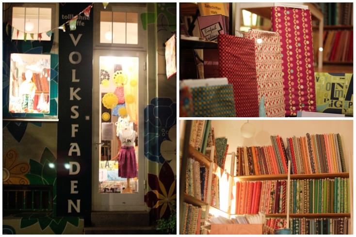 Volksfaden: Ένα μικρό αλλά απίστευτα ατμοσφαιρικό μαγαζάκι με υφάσματα