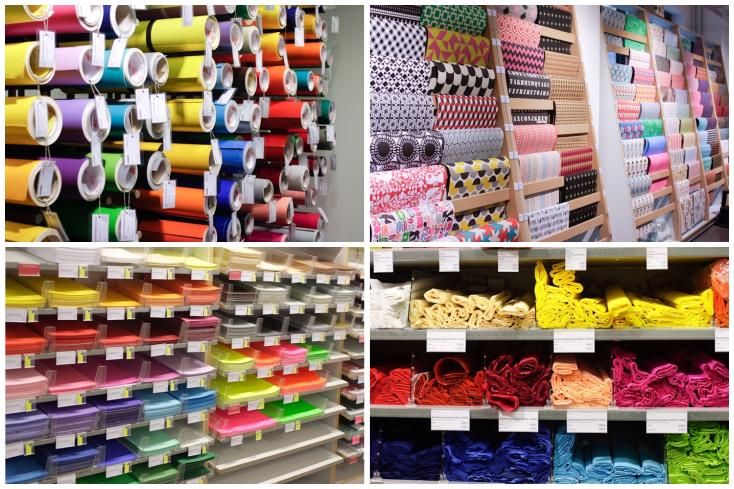 Modulor: Χρώμα, υλικά, ράφια ασφυκτικά γεμάτα <3