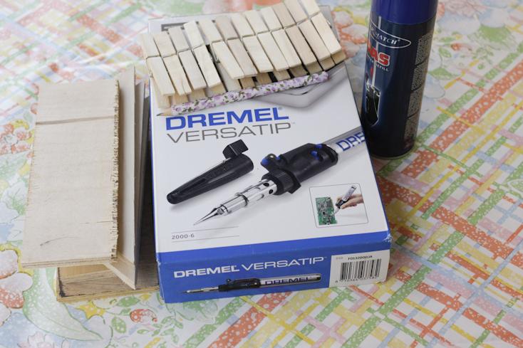 Τα απαραίτητα υλικά και εργαλεία για την πυρογραφία