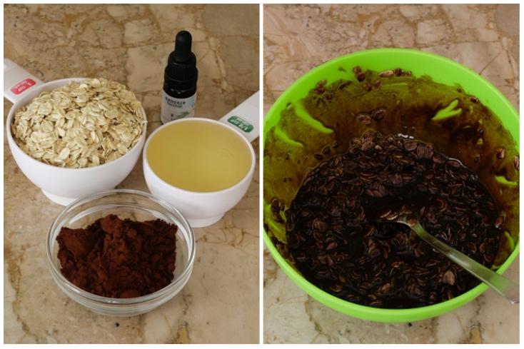 Τα υλικά για το scrub για μετά τις διακοπές και την επιστροφή στην καθημερινότητα