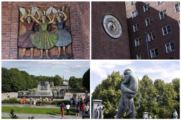 Vigeland Sculpture Park και Δημαρχείο του Όσλο