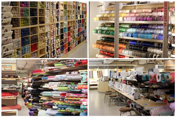 Sømsenteret: Τακτοποίηση με βάση το χρώμα και το σχέδιο <3