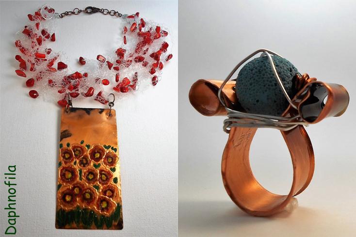 Τα υπέροχα και ιδιαίτερα κοσμήματα της Daphnofila