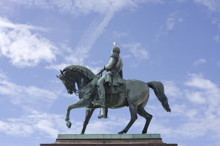 Ένας από τους βασιλιάδες που δεν πρόκαμε να μείνει στο παλάτι και ας το έφτιαχναν για αυτόν